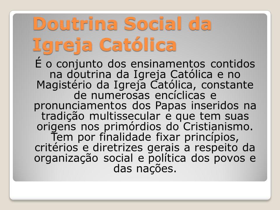 Doutrina Social da Igreja Católica