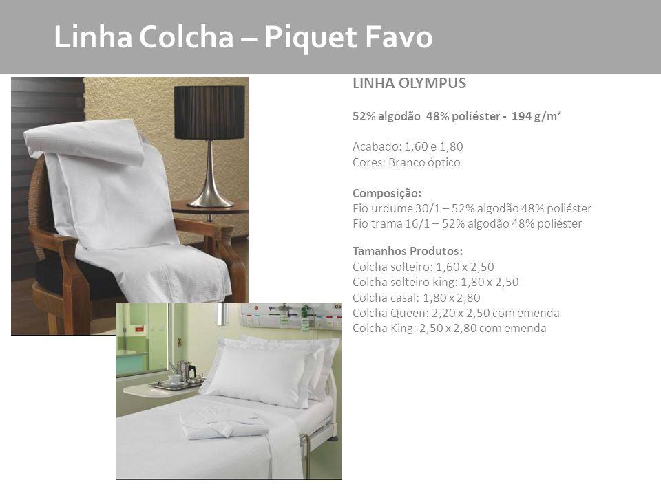 Linha Colcha – Piquet Favo