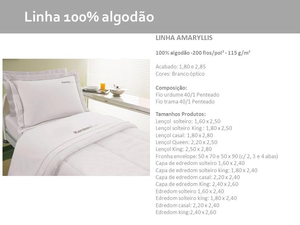 Linha 100% algodão LINHA AMARYLLIS