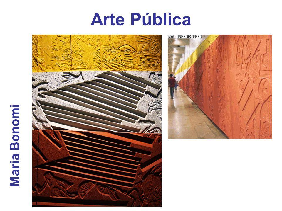 Arte Pública Maria Bonomi