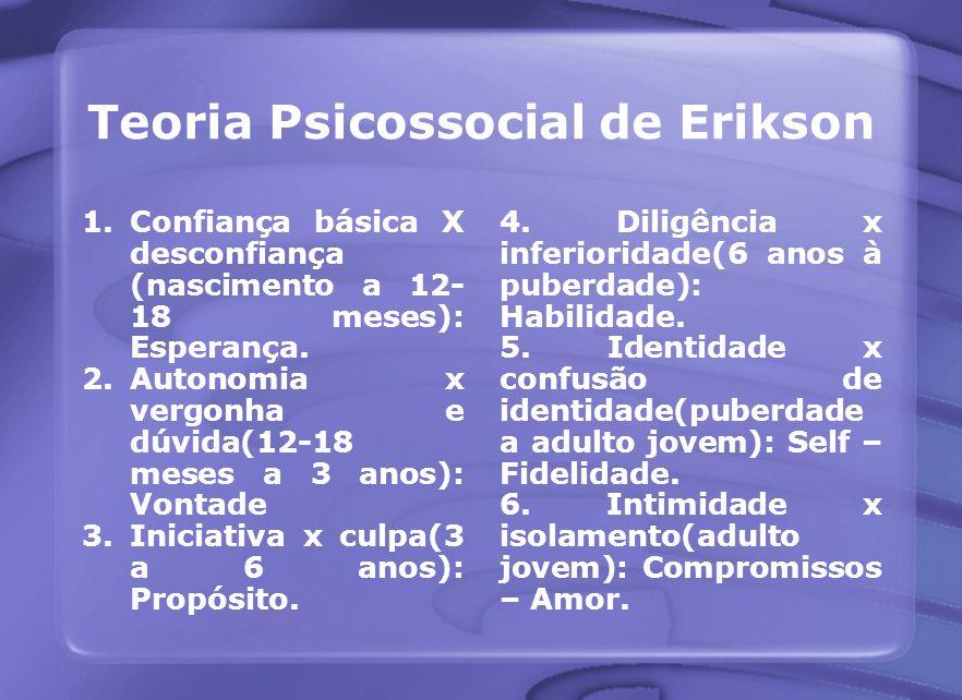Teoria Psicossocial de Erikson