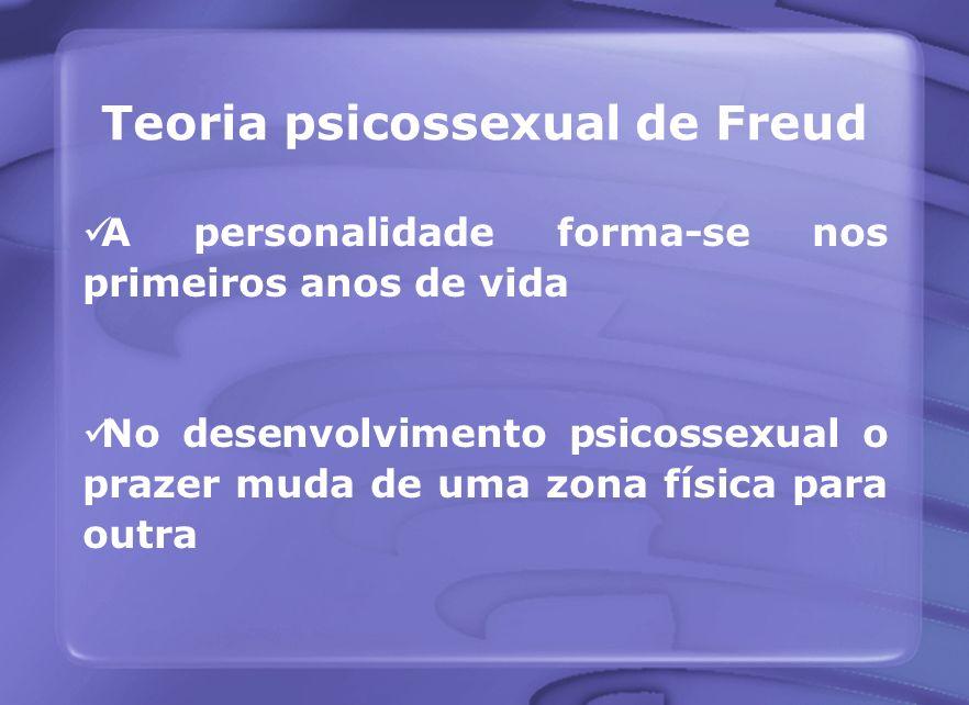 Teoria psicossexual de Freud