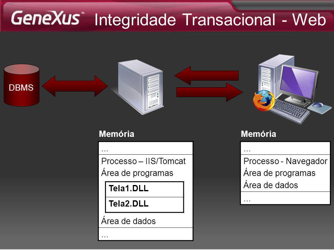 Integridade Transacional - Web