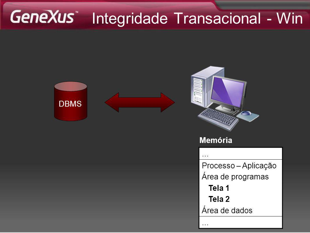 Integridade Transacional - Win