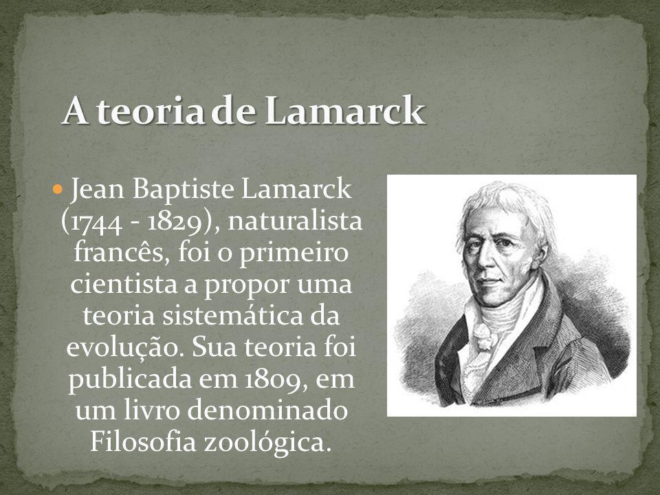 A teoria de Lamarck