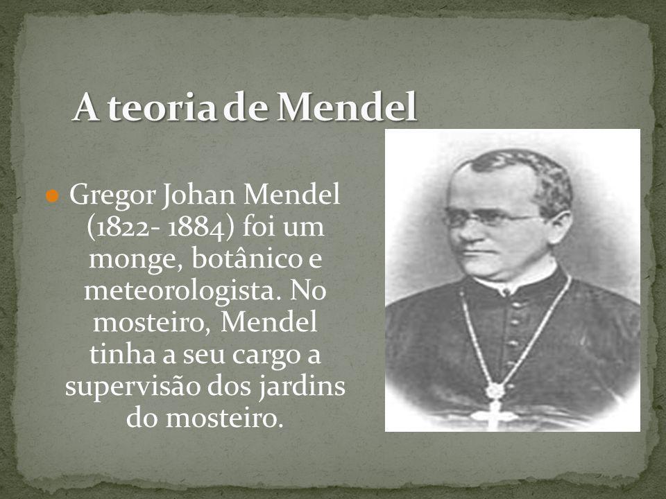 A teoria de Mendel