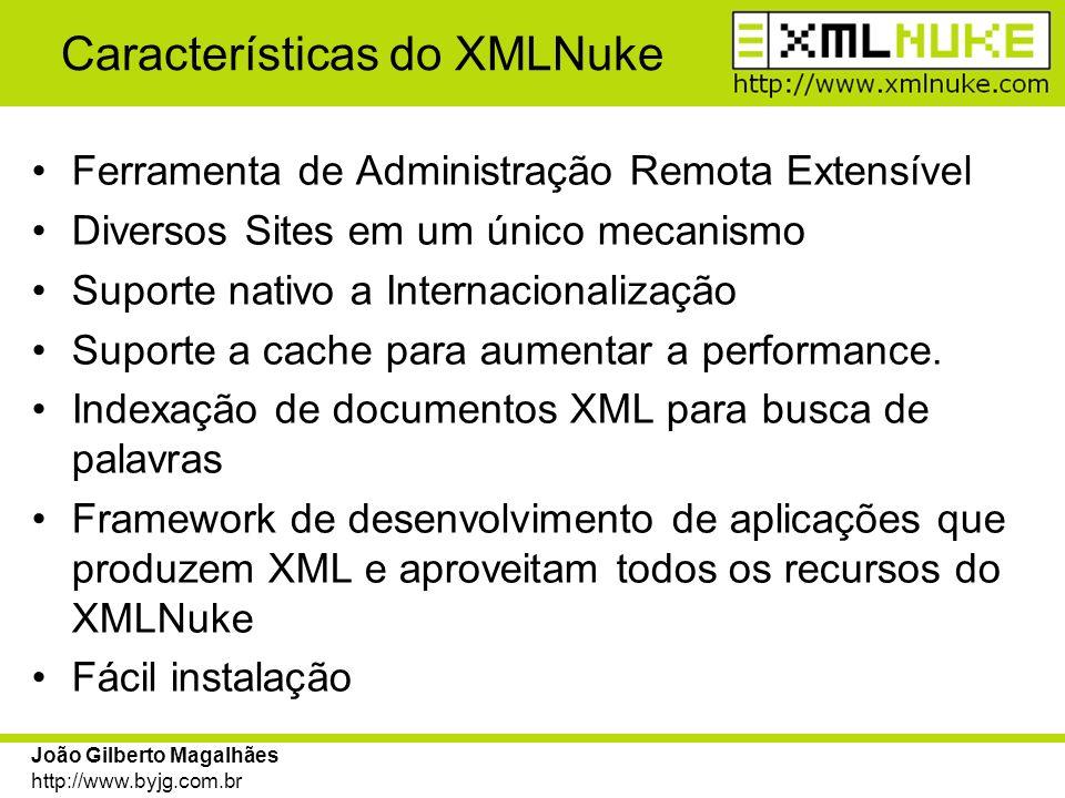Características do XMLNuke