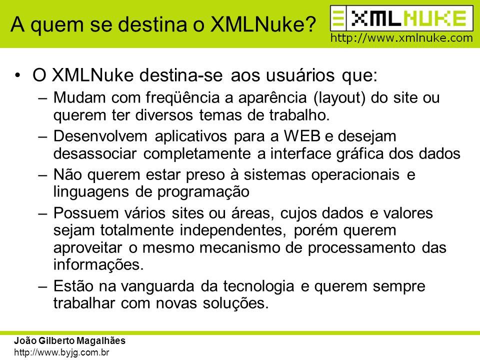A quem se destina o XMLNuke