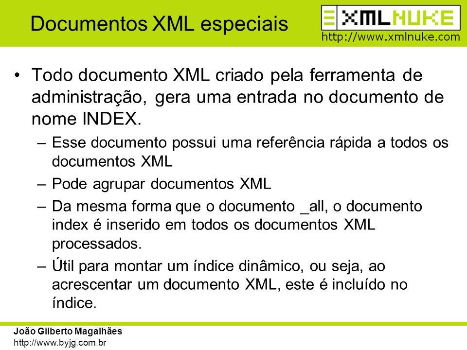 Documentos XML especiais