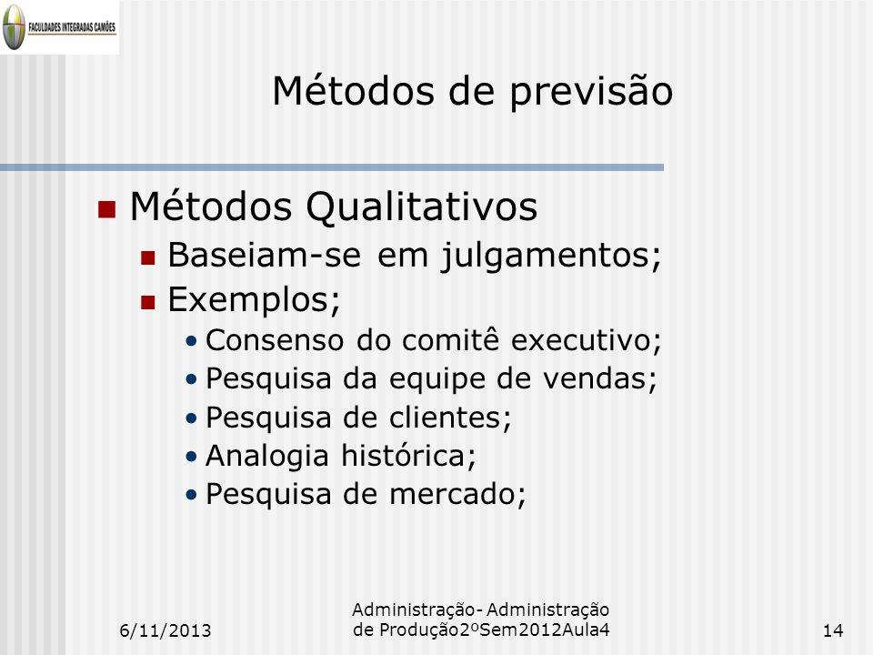 Administração- Administração de Produção2ºSem2012Aula4