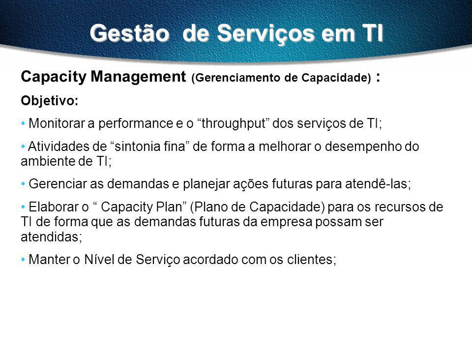 Gestão de Serviços em TI