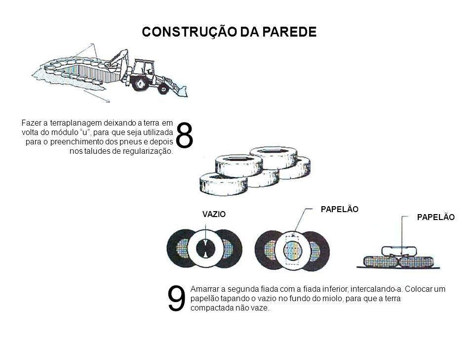 CONSTRUÇÃO DA PAREDE 8.