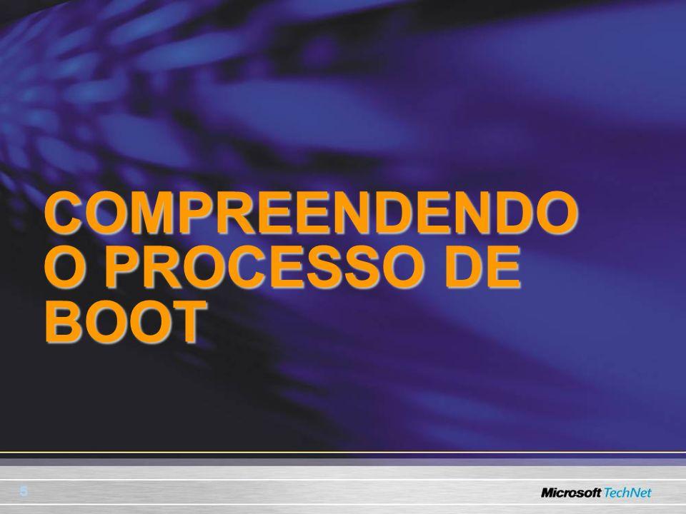 COMPREENDENDO O PROCESSO DE BOOT