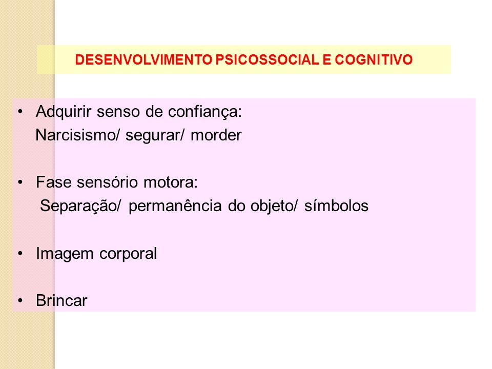 DESENVOLVIMENTO PSICOSSOCIAL E COGNITIVO