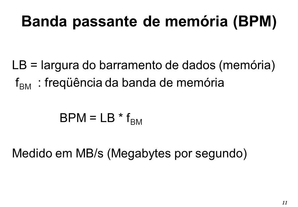 Banda passante de memória (BPM)