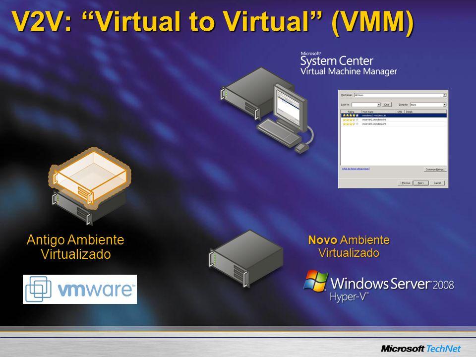 V2V: Virtual to Virtual (VMM)