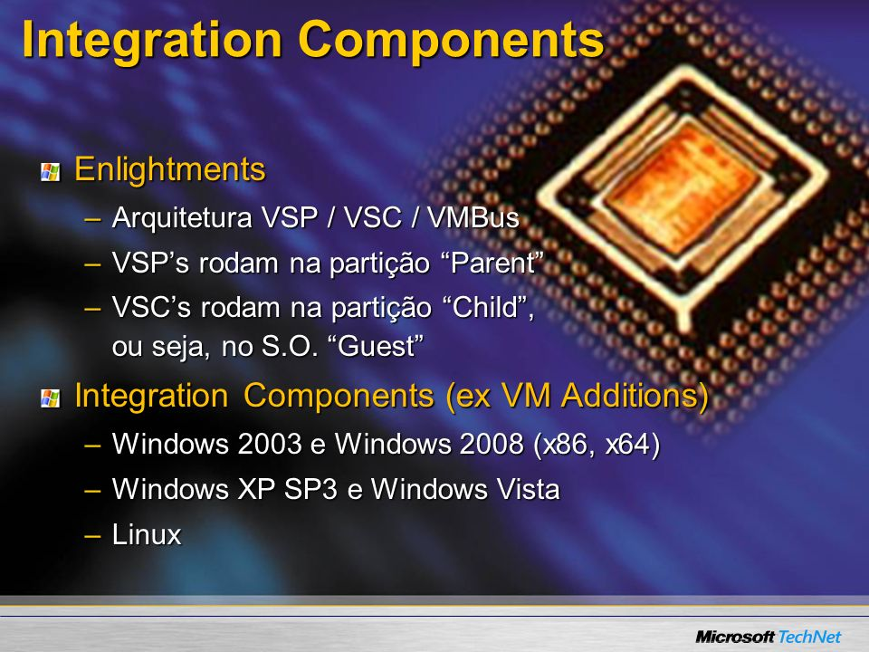 Integration Components