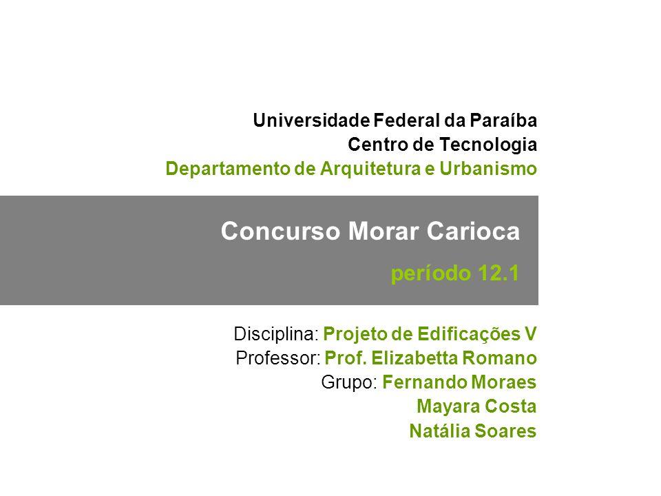 01/29 Concurso Morar Carioca período 12.1