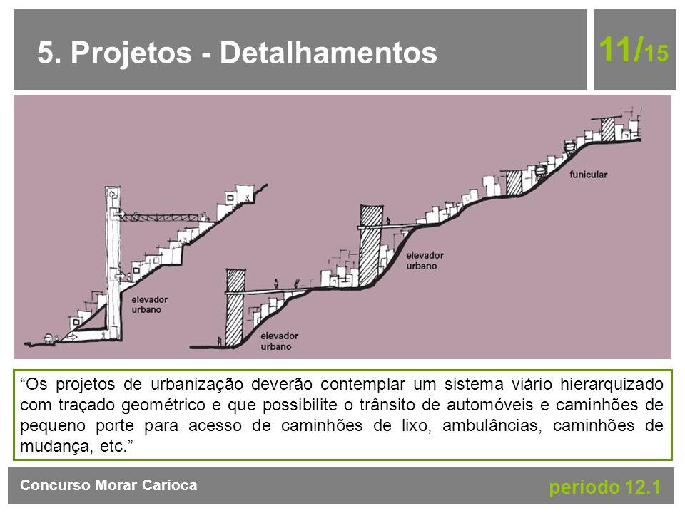 11/15 5. Projetos - Detalhamentos período 12.1