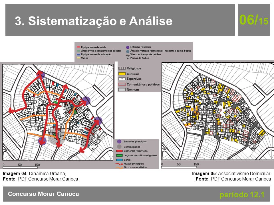 06/15 3. Sistematização e Análise período 12.1 Concurso Morar Carioca