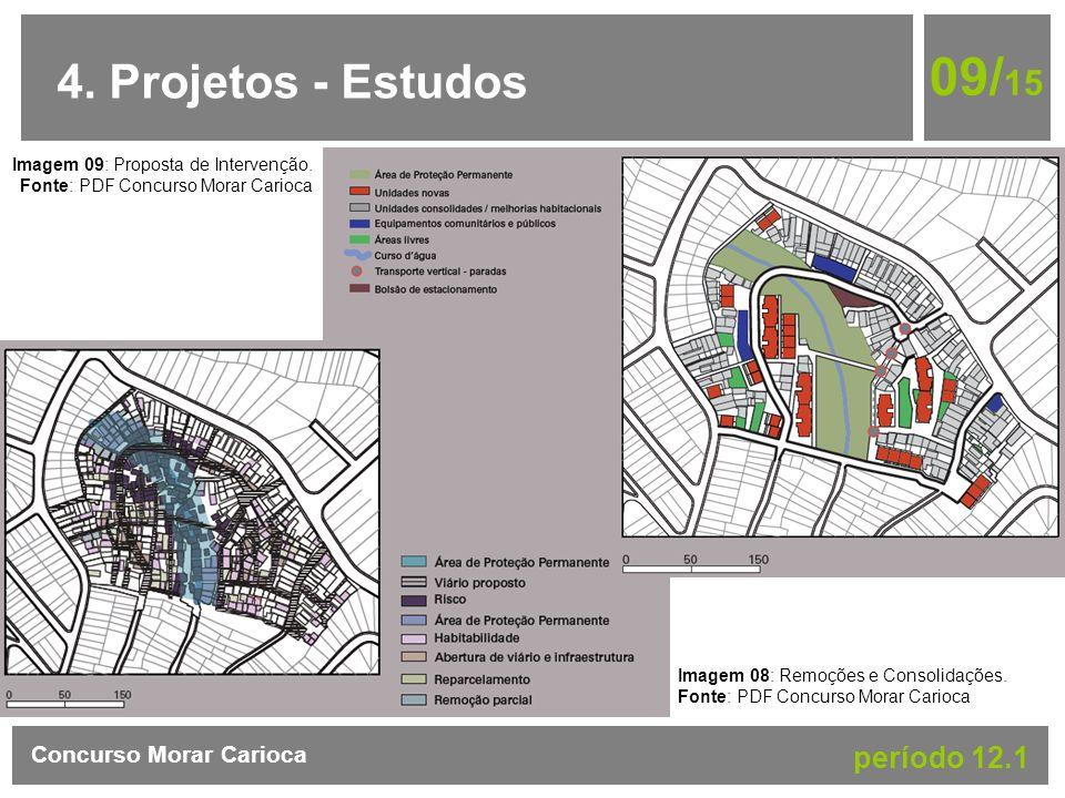 09/15 4. Projetos - Estudos período 12.1 Concurso Morar Carioca