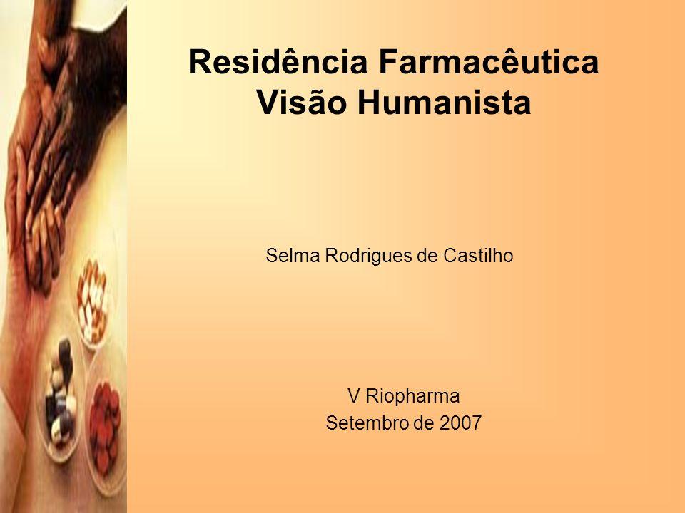 Residência Farmacêutica Visão Humanista