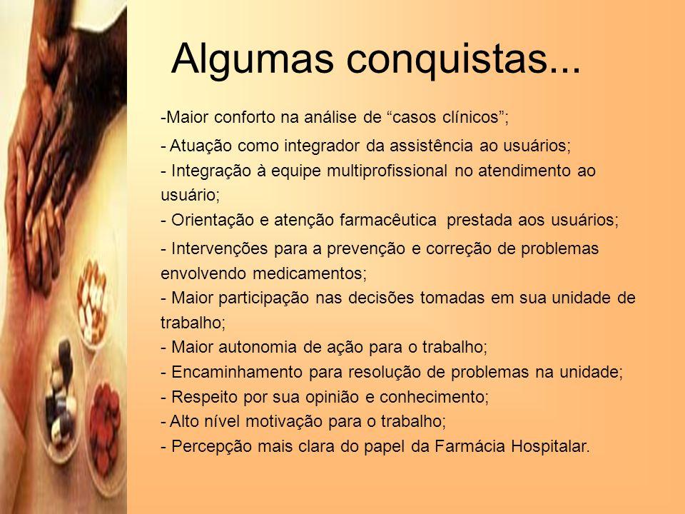 Algumas conquistas... Maior conforto na análise de casos clínicos ;