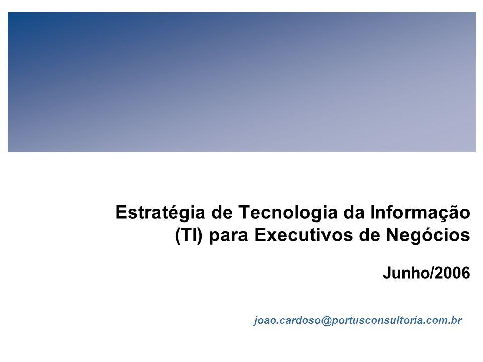 Estratégia de Tecnologia da Informação (TI) para Executivos de Negócios