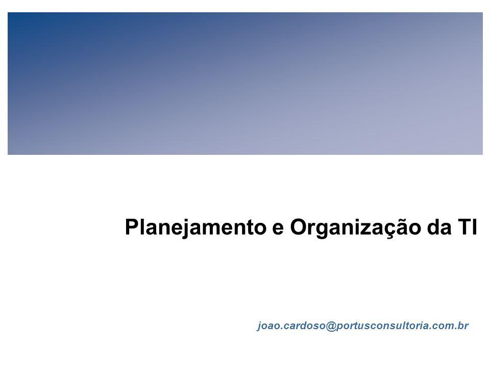 Planejamento e Organização da TI