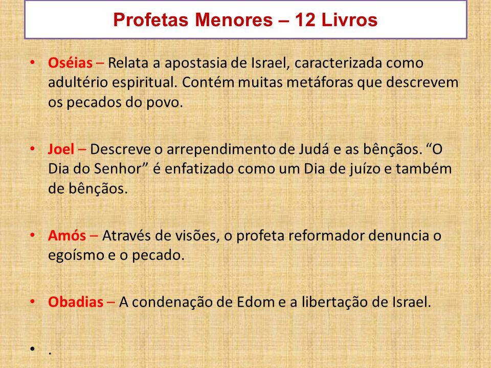 Profetas Menores – 12 Livros