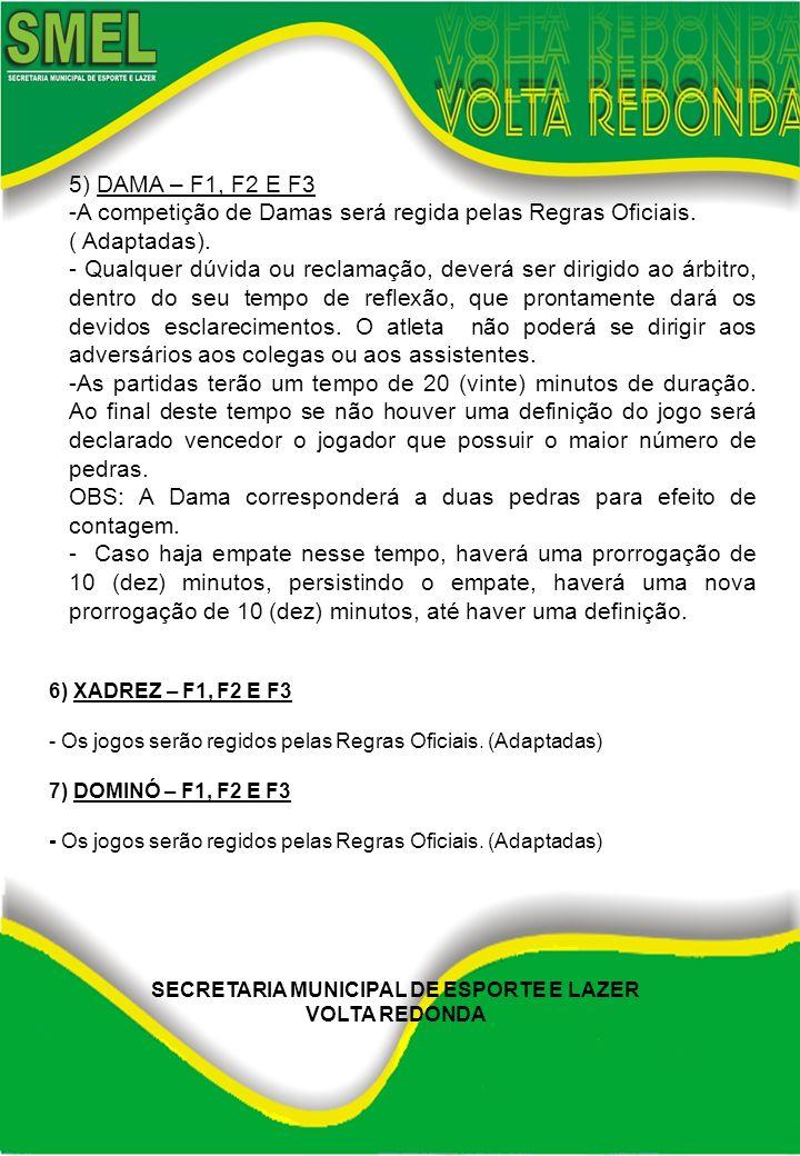 SECRETARIA MUNICIPAL DE ESPORTE E LAZER