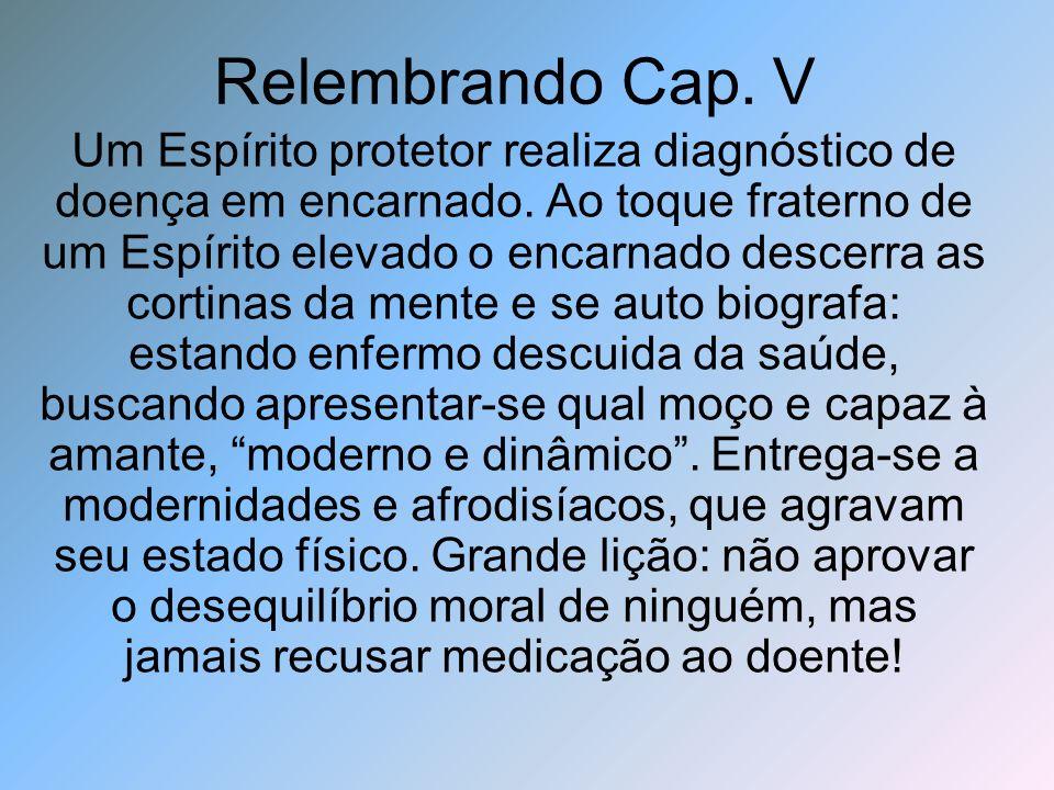 Relembrando Cap. V