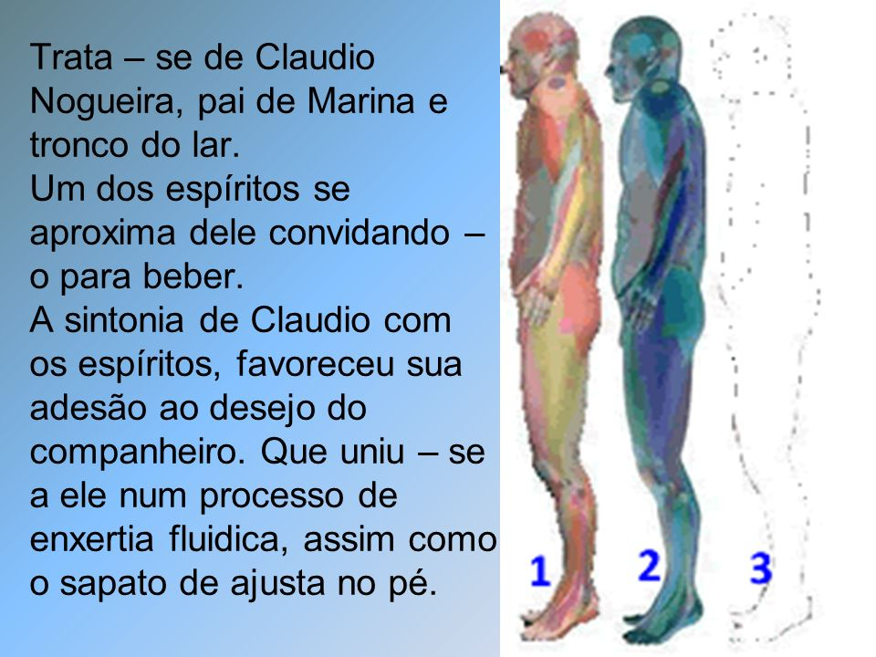 Trata – se de Claudio Nogueira, pai de Marina e tronco do lar