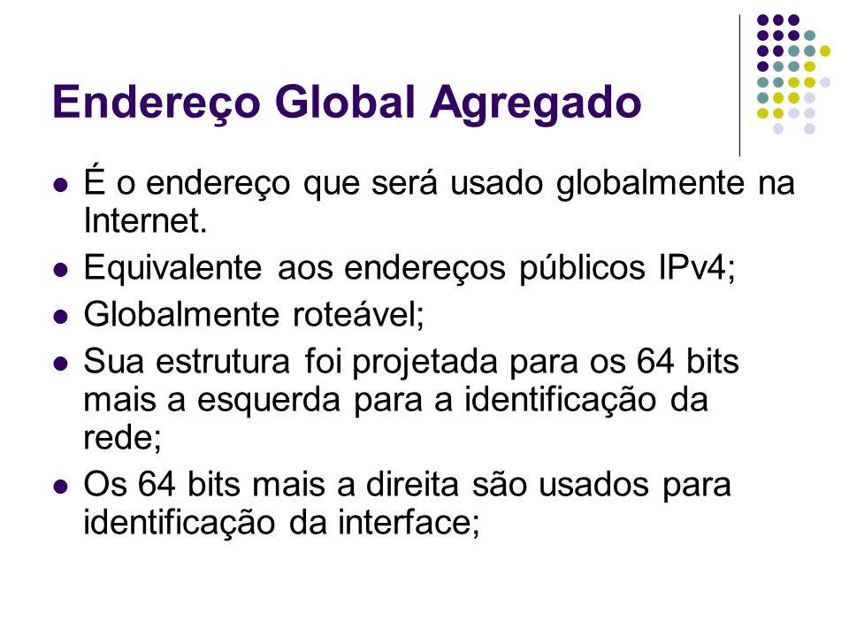 Endereço Global Agregado
