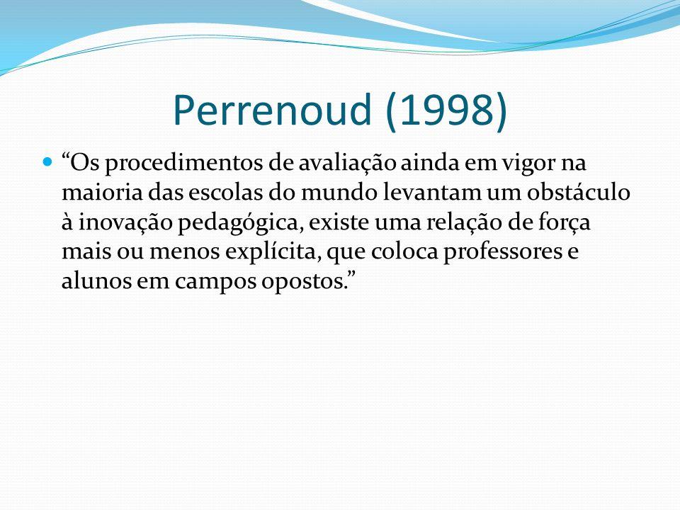 Perrenoud (1998)