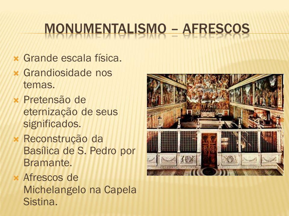 Monumentalismo – afrescos