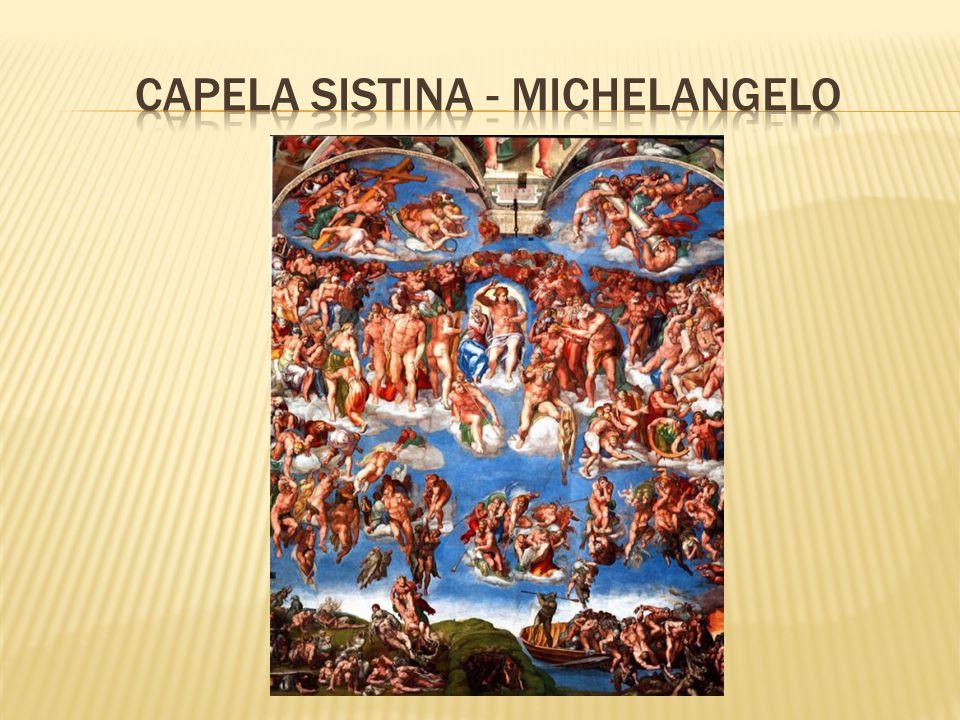 CapelA SISTINA - MICHELANGELO
