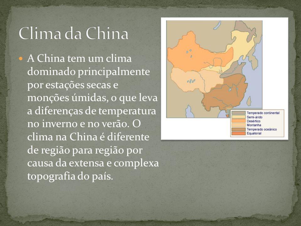 Clima da China