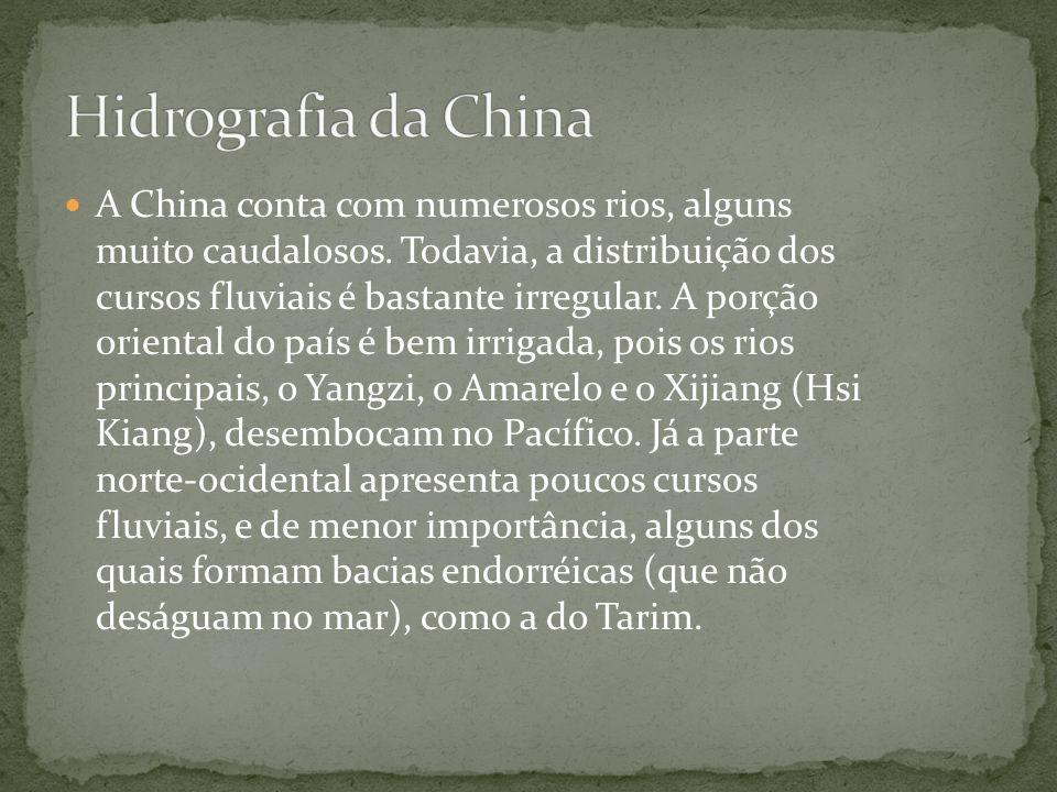 Hidrografia da China