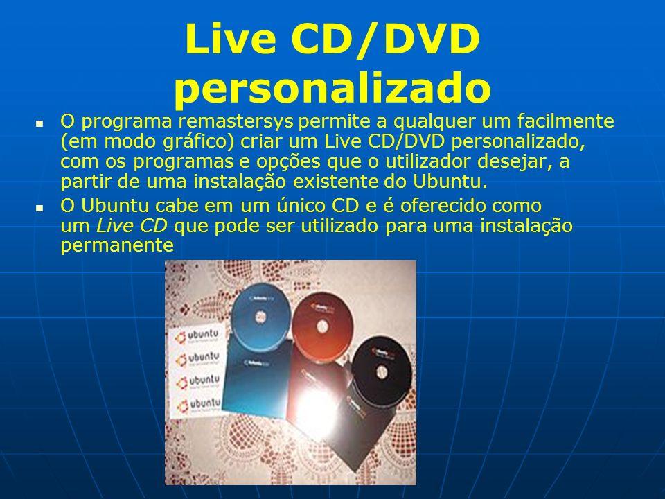 Live CD/DVD personalizado