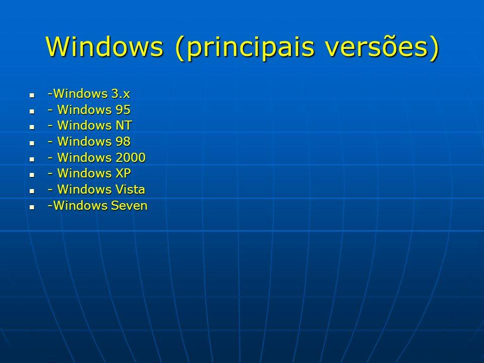Windows (principais versões)