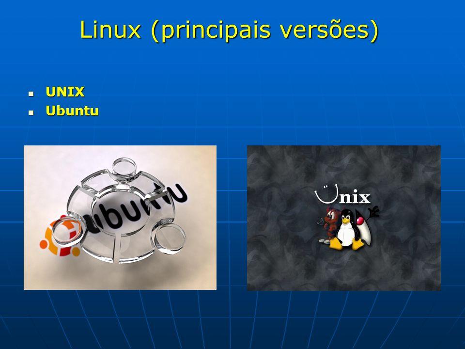 Linux (principais versões)