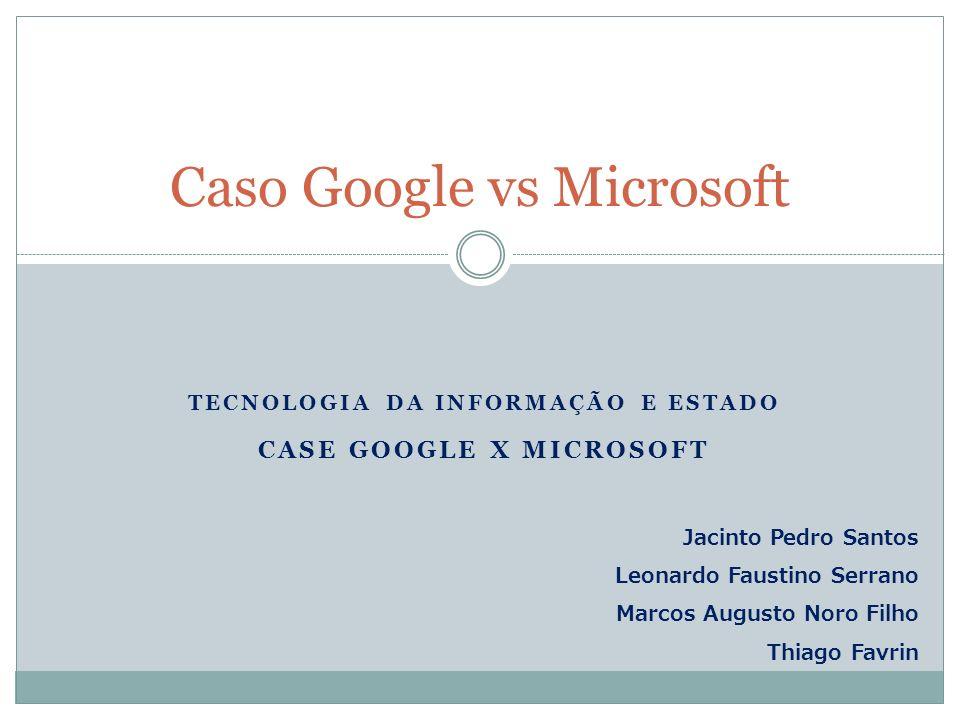 Caso Google vs Microsoft