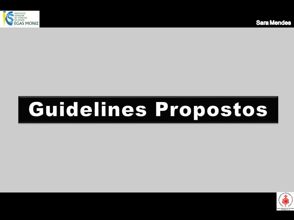 Sara Mendes Guidelines Propostos