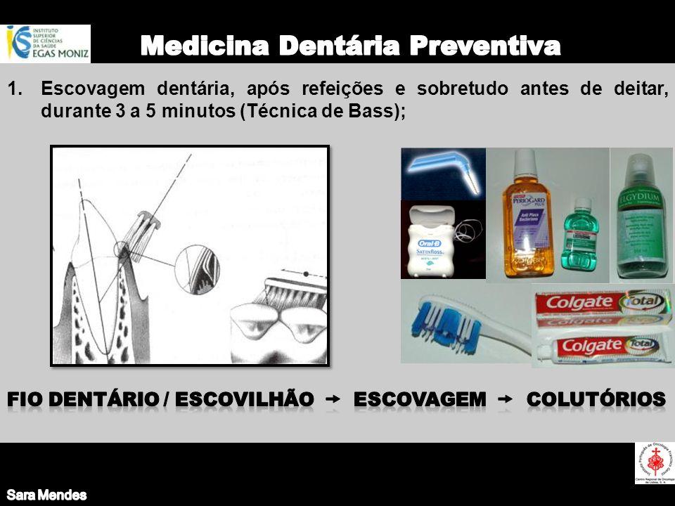 Medicina Dentária Preventiva