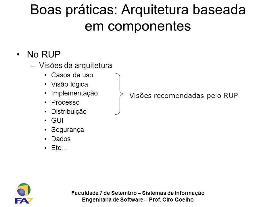 Boas práticas: Arquitetura baseada em componentes
