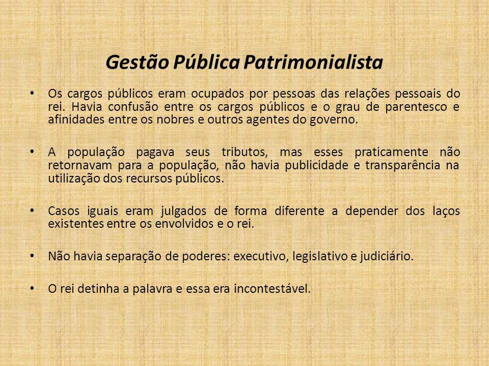 Gestão Pública Patrimonialista