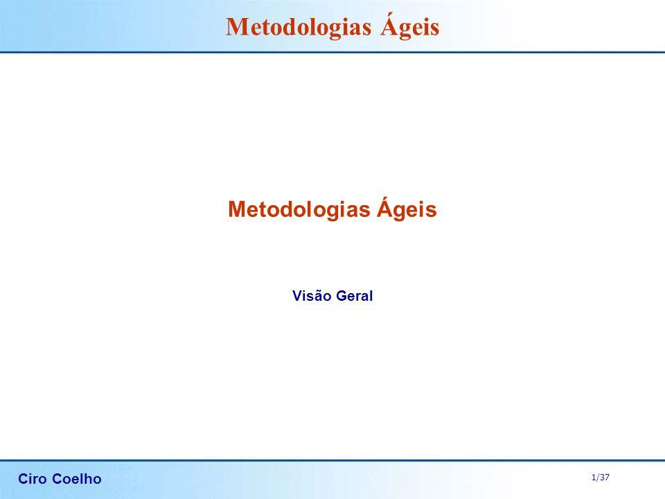 Metodologias Ágeis Visão Geral