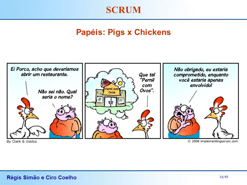 Papéis: Pigs x Chickens