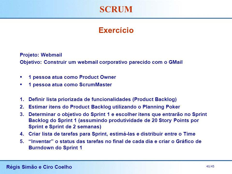 Exercício Projeto: Webmail